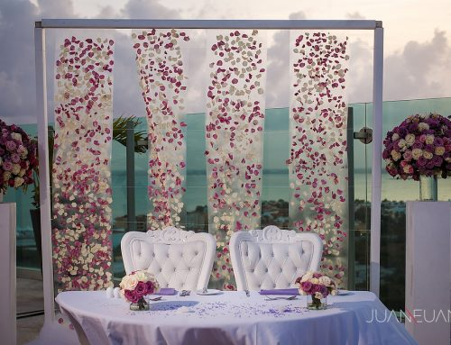 M and K, Beach Palace Cancun Resort, Cancun Destination Wedding