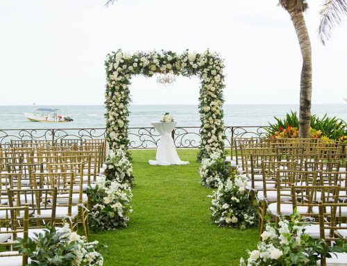 Oh So Dreamy Destination Wedding at the Luxury Villa in the Riviera Maya!